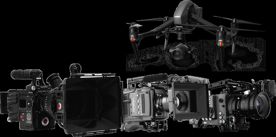 ZEROの撮影機材一例