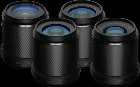 DL-S 16mm F2.8 ND ASPH&DL 24mm F2.8 LS ASPH&DL 35mm F2.8 LS ASPH&DL 50mm F2.8 LS ASPH